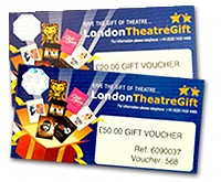 �100 London Theatre Voucher and Gift Wallet