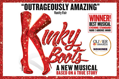 Kinky Boots Theatre Tickets and Meal for Two