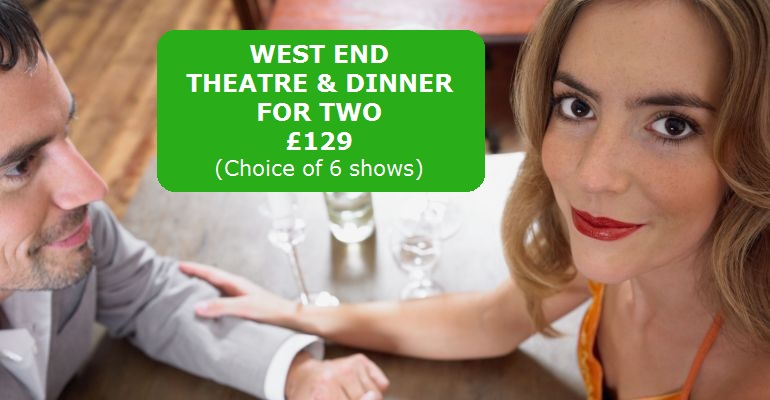 Theatre and Dinner Gift Vouchers