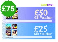 £75 Superbreak Voucher