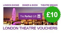 £10 London Theatre Voucher