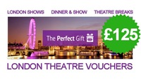 £125 London Theatre Voucher