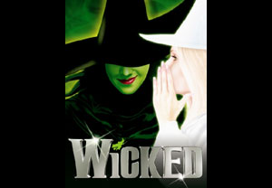 Wicked Theatre Tickets and Meal Voucher for Two